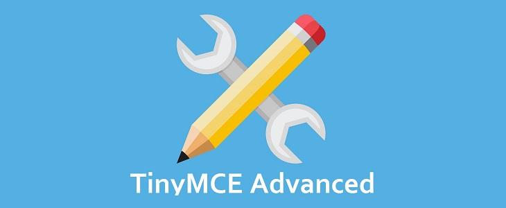 Banner TinyMCE Advanced