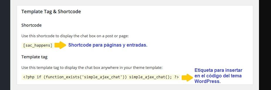 Códigos de implementación-Simple Ajax Chat